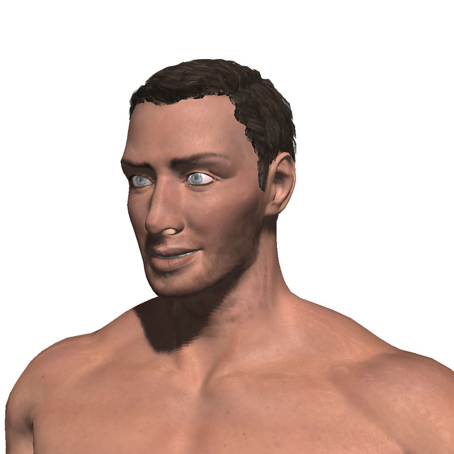 Game ready Character- Animated Man royalty-free 3d model - Preview no. 1