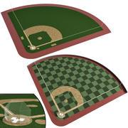 野球場・野球場 3d model