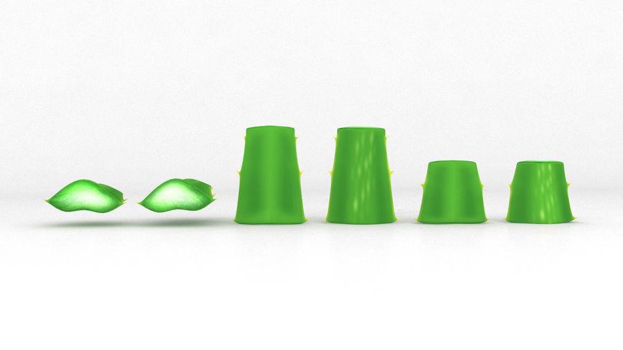 Aloe Vera Pflanze royalty-free 3d model - Preview no. 3