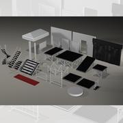 Strutture per eventi 3d model
