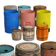 Barrel Collection 3d model