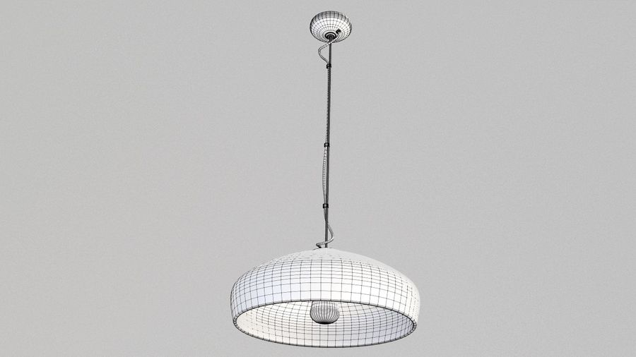 Lamp (111) royalty-free 3d model - Preview no. 4