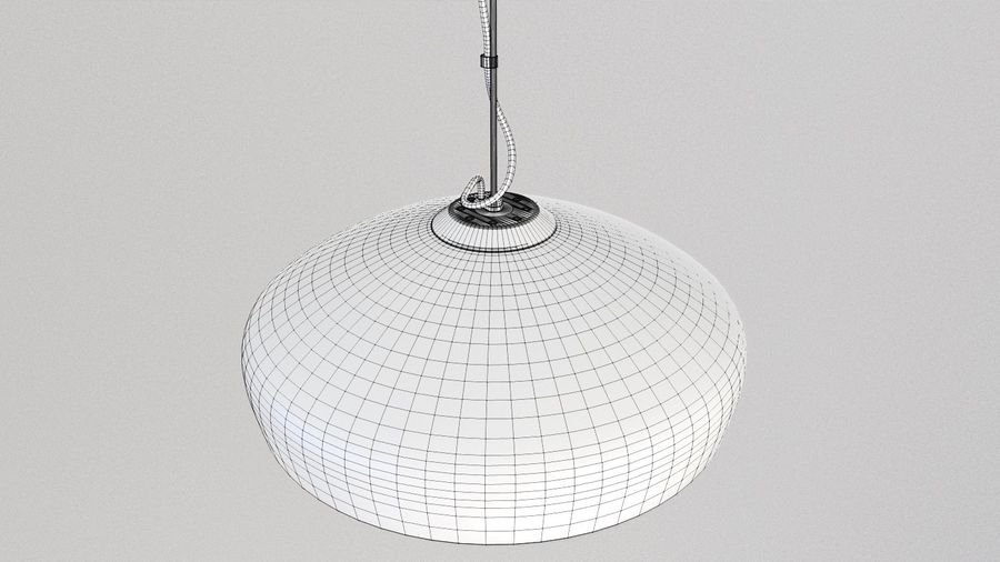 Lamp (111) royalty-free 3d model - Preview no. 5
