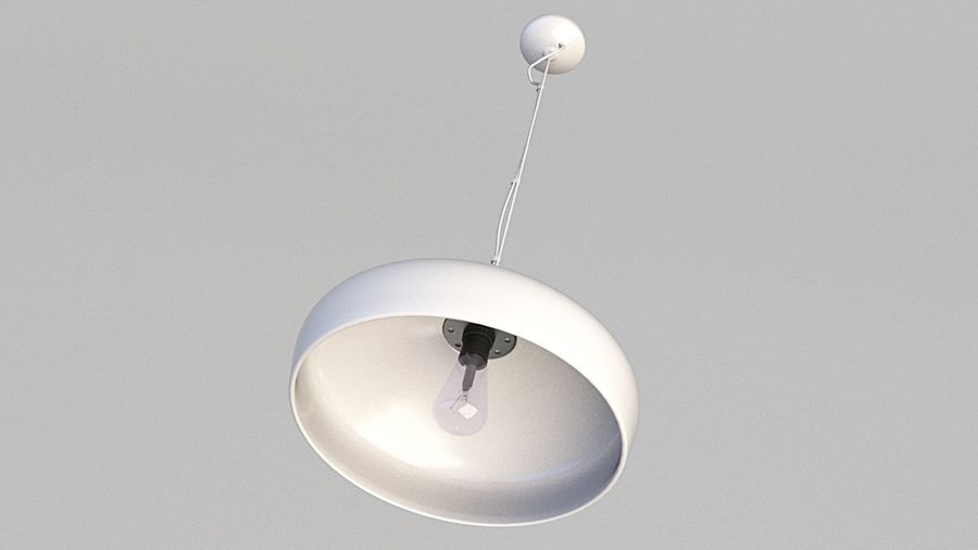 Lamp (111) royalty-free 3d model - Preview no. 3