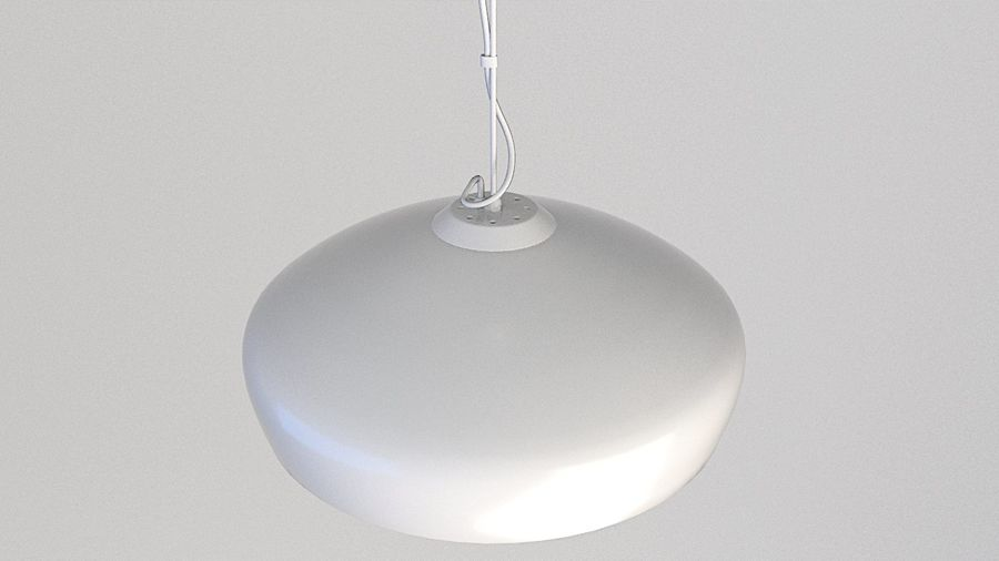 Lamp (111) royalty-free 3d model - Preview no. 2