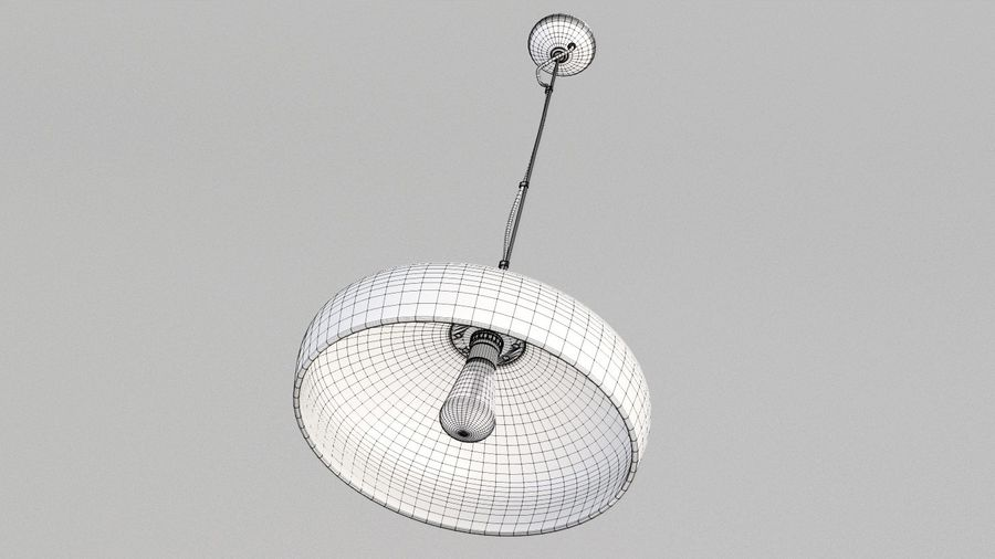 Lamp (111) royalty-free 3d model - Preview no. 6