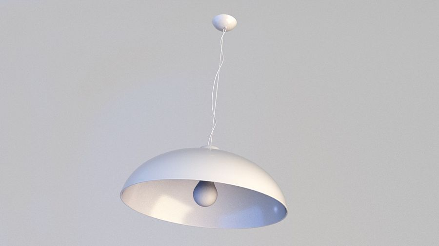 Lamp (84) royalty-free 3d model - Preview no. 1