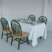 klassieke landelijke eetkamerstoel 3d model