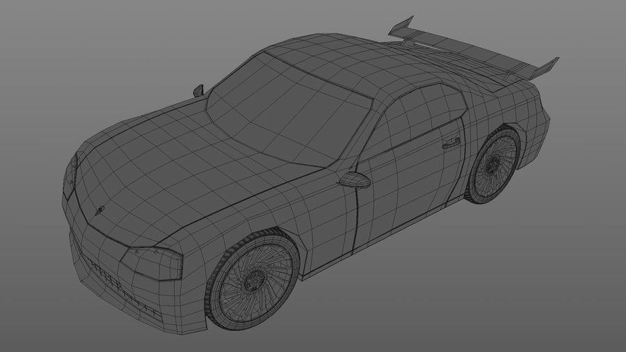 Racing Car royalty-free 3d model - Preview no. 7