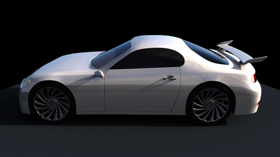 Racing Car royalty-free 3d model - Preview no. 3