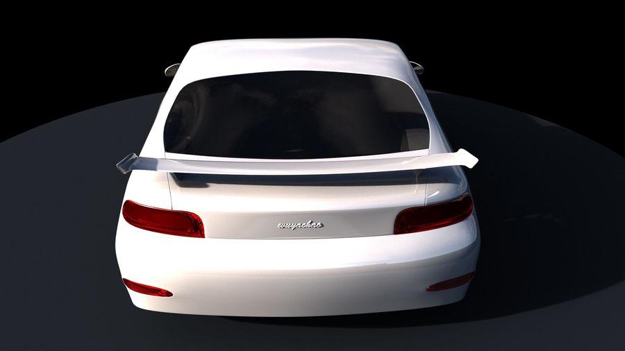 Racing Car royalty-free 3d model - Preview no. 5