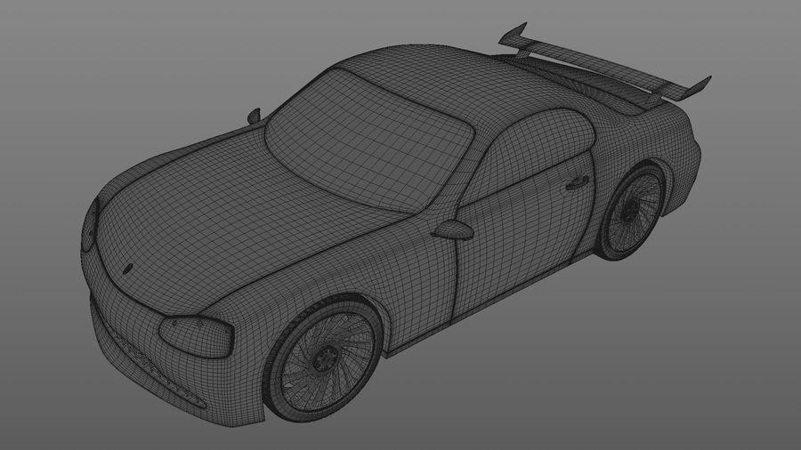 Racing Car royalty-free 3d model - Preview no. 6