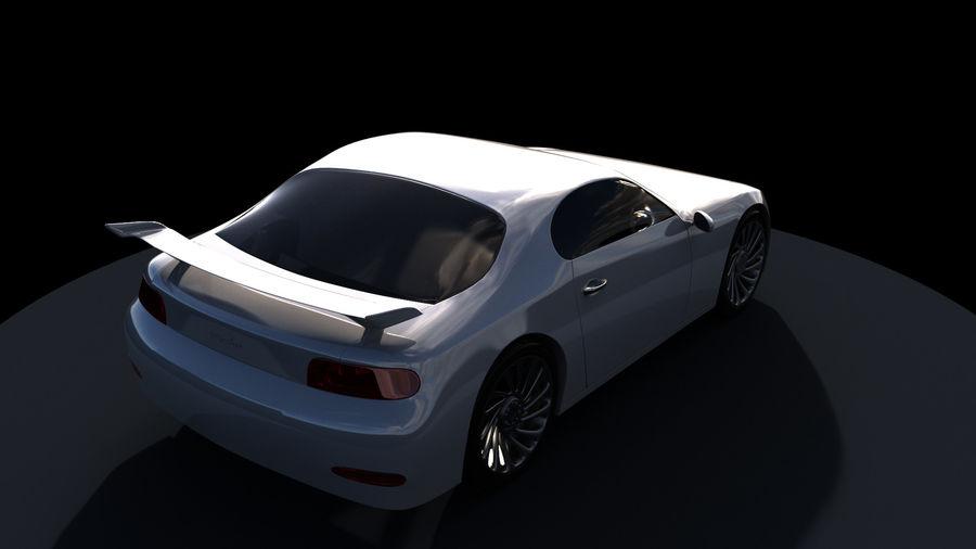 Racing Car royalty-free 3d model - Preview no. 2