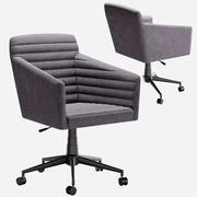 左现代布朗克斯办公椅 3d model