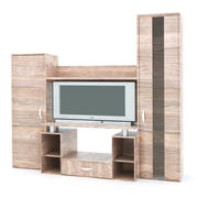 TV shelf 3d model