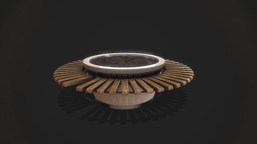Pot de fleurs pour plantes royalty-free 3d model - Preview no. 2