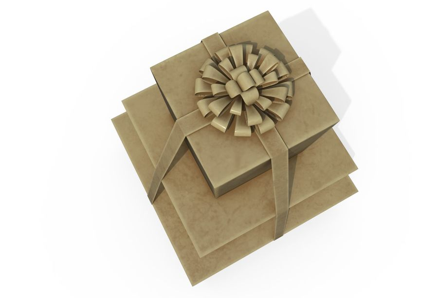 Gift Set royalty-free 3d model - Preview no. 6