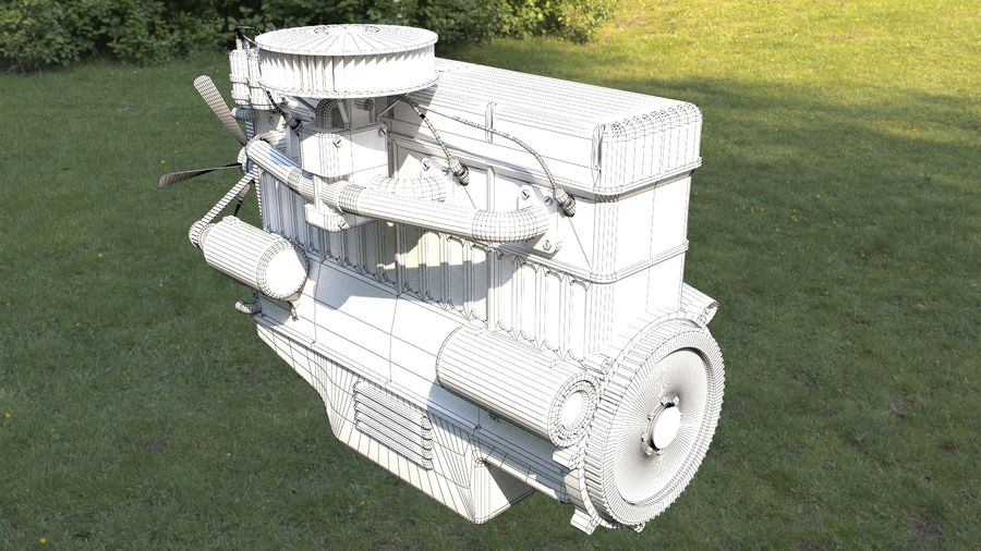 Motor royalty-free 3d model - Preview no. 8