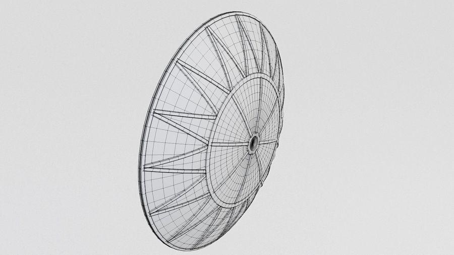 Antena Satelital (3) royalty-free modelo 3d - Preview no. 8