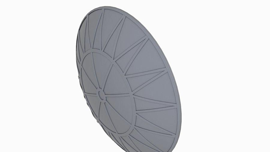 Antena Satelital (3) royalty-free modelo 3d - Preview no. 6