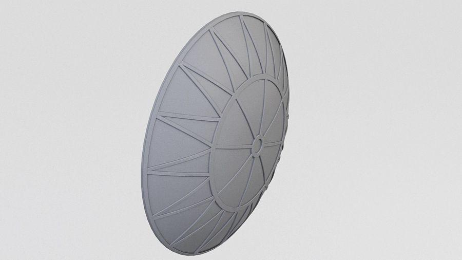 Satélite da antena (3) royalty-free 3d model - Preview no. 3