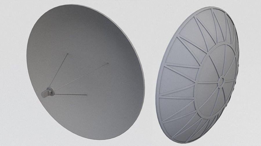 Satélite da antena (3) royalty-free 3d model - Preview no. 1