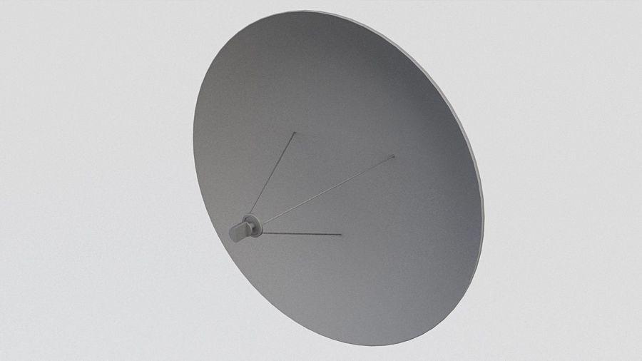 Antena Satelital (3) royalty-free modelo 3d - Preview no. 2