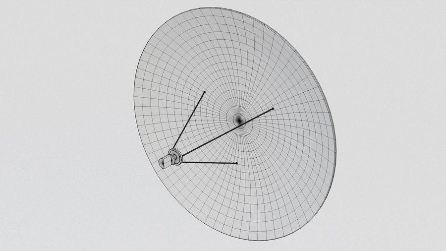 Antena Satelital (3) royalty-free modelo 3d - Preview no. 9