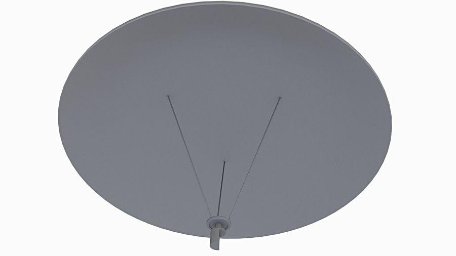 Satélite da antena (3) royalty-free 3d model - Preview no. 5