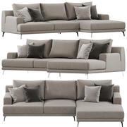 Ditre Italia Foster soffa 3d model