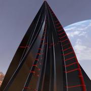 Alien Pyramid 3d model