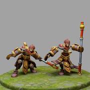 League Of Legends Wukong 3d model