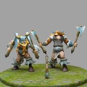 League Of Legends Olaf 3d model