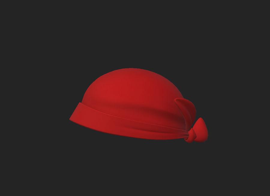 Bandana Hat royalty-free 3d model - Preview no. 1