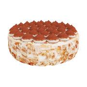 티라미수 케이크 3d model