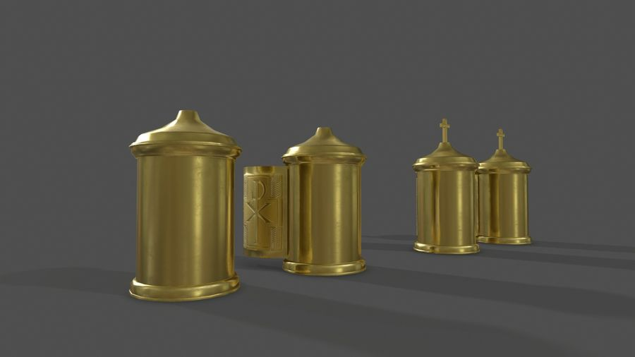 장막 royalty-free 3d model - Preview no. 3
