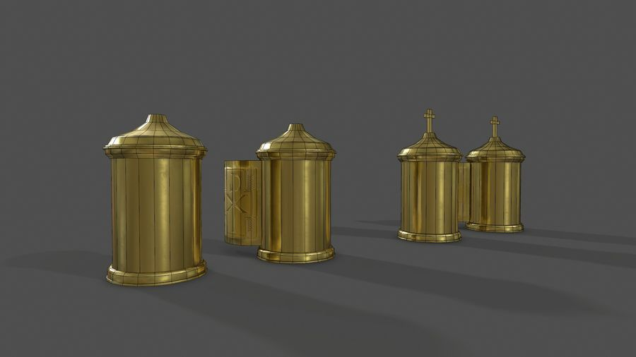 장막 royalty-free 3d model - Preview no. 5