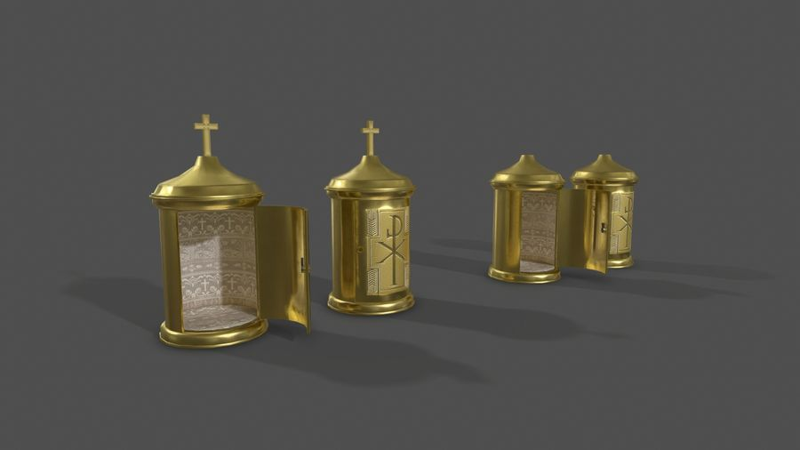 장막 royalty-free 3d model - Preview no. 1