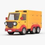 Cartoon Lorry 3d model