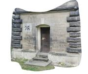 church side entrance 3d model