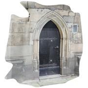 photoscanned door 3d model