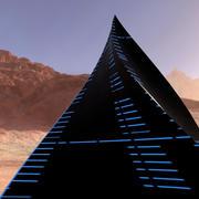 Mystic Alien Pyramid 3d model
