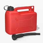 Bidon de carburant 3d model