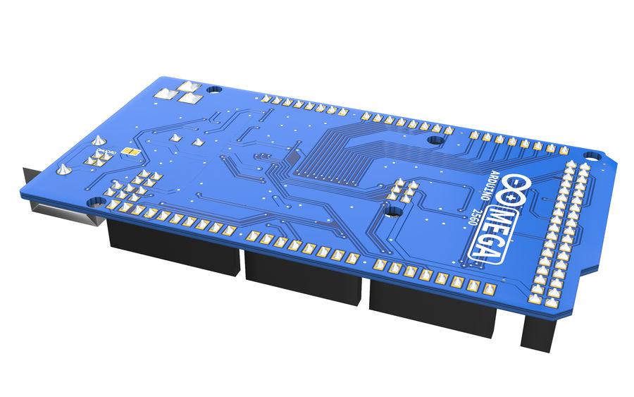 Arduino Mega royalty-free 3d model - Preview no. 4