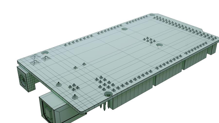 Arduino Mega royalty-free 3d model - Preview no. 7