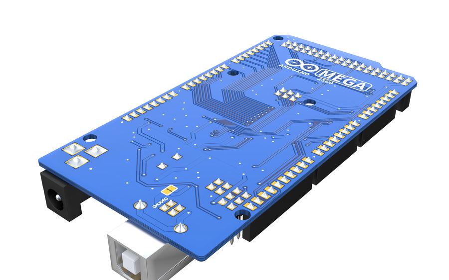 Arduino Mega royalty-free 3d model - Preview no. 5