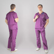 Surgical doctor with a stethoscope 79 3d model