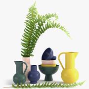 Raawii Strom Vase Vase 3d model