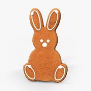 Bunny Cookie 3d model