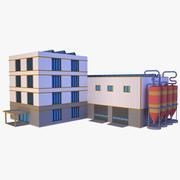 工业建筑06 3d model